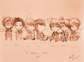 7 deadly sins by instant-moka