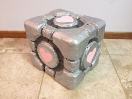 My Companion Cube by LittleNinjaNeko
