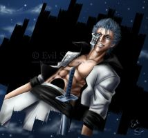 Grimmjow - Back to Hueco Mundo by Evil-Siren