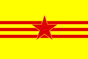 (Alternate) Flag of the Land of Vietnam by ramones1986
