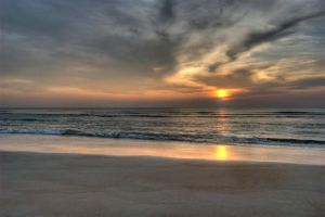 Daytona Beach Sunrise 6 by Art-Photo