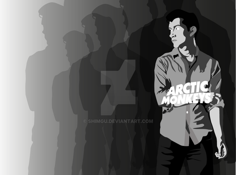 Alex Turner WallPaper by Shimgu
