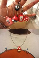 Keychains and Necklaces by shanuja
