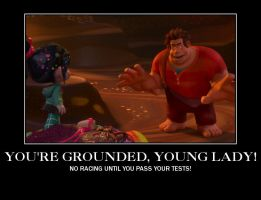 You're grounded, young lady! by DjPavlusha