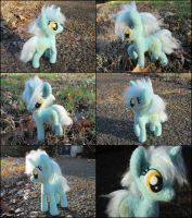 Lyra Heartstrings Posable Needle Felted Plush by SnowFox102