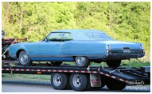 An Oldsmobile Ninety Eight Convertible by TheMan268