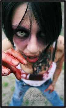 AMY ZOMBIE by AESTHETICxPERFECTION