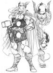 Thor by harveytsketchbook