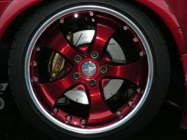 Sexy Red Wheels by ticklemeimsexy