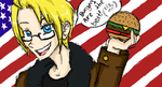 APH- Awesomeburger by DesolatePassion