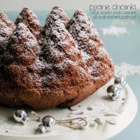 Drunk christmas trees - irish cream cake by Pokakulka