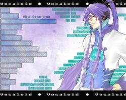 Vocaloid: Gakupo Wallpaper by Balrond