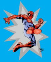 Spidey Kick colors by Glwills1126