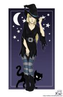 Halloween - Witch by Millster-Ink
