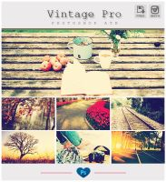 Instagram Vintage Pro - Photoshop ATN by friabrisa