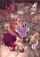 Alice In Wonderland by karookaroo
