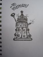 Dalek - To Victory! by Timelady93