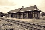 Gulf Mobile and Ohio Depot by SMT-Images