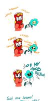 Quantumtale SHORTS: Bad Word = Bad Time by perfectshadow06