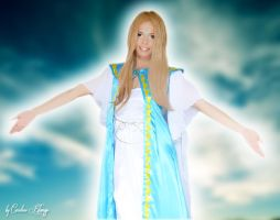 Belldandy Cosplay by BerryIceCreamAngel