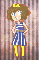 Navy Dress by Thystle