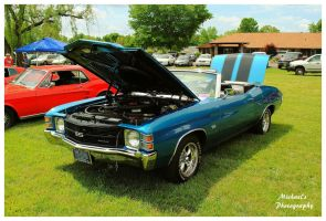 A Blue Chevelle SS Convertible by TheMan268