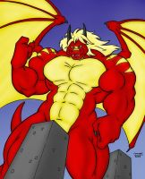 - Dragonfireny Pumped Up - by notveryathletic