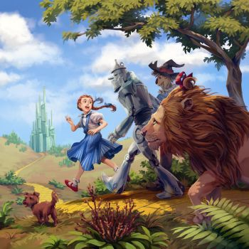 The Wonderful Wizard of Oz by nikogeyer