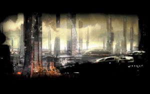 Mass Effect 2 Urban Dawn by Ltflak