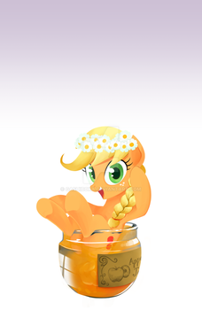 Mobile LockScreen - Apple jam by GashibokA