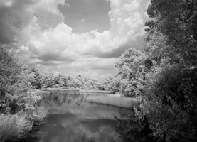 Bayou Grande in Infrared by ConstructionSyndrome