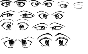 Day 2 - Eye practice, details, pairs by HarryKayan