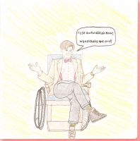 Wheelchairs are cool! by CurlythePirate