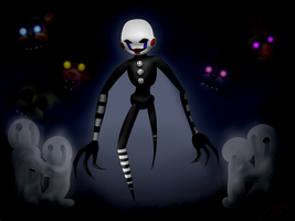 I never liked that puppet thing... by Rebexorcist