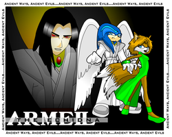 Armeil the Echidna by Gaminefans