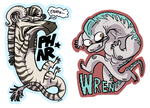 MORE BADGES. by MyNameIsMad