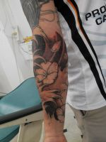 koi fish cover up #5 by facepolution