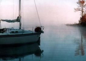 Sailboat Morning by supul-sinac
