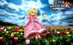 Super Smash Bros. Wii U / 3DS - Princess Peach by Legend-tony980