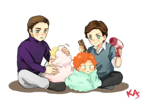 cherik family by kasumivy