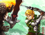 Sword fight by Thouy1