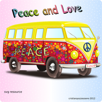 Peace and Love by ilnanny