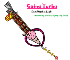 Keyblade Design #1 : Going Turbo by OverpoweredClefairy