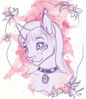Sketch of Felis by Suane