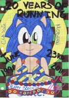 20 YEARS OF RUNNING by izzysonic77