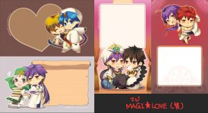 +MAGI+ Notepads by KagenKahira