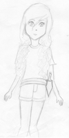 Annabeth Chase - another sketch... by LilianNogueira