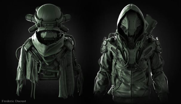 design exercise in zbrush by fredTS