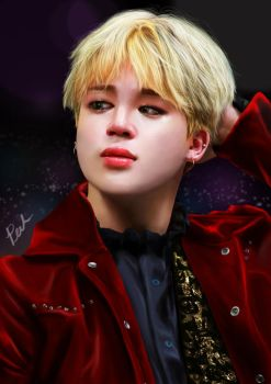 Jimin fan art by pickiipack