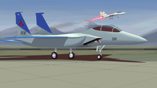 Cipher's F-15 by Malnu123